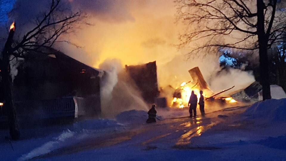 An early morning fire on Jan. 12, 2018 destroyed The Hill Restaurant & Lounge. The lodging units and motel were not touched and remain open for business.